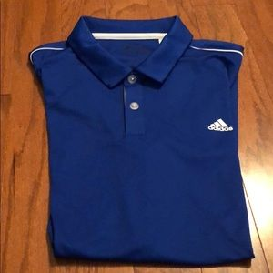 Men's Adidas short sleeve golf shirt
